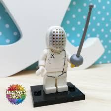 En Guard Fencer Minifigure Series 13 Mini Figures Lego Minifigures Lego
