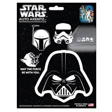 Star Wars Heads Family Decal Kit Entertainment Earth