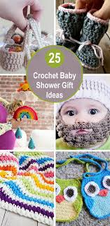 25 crochet baby shower gift ideas