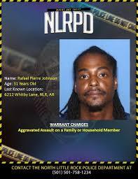 ARREST UPDATE*** Rafael Johnson... - North Little Rock Police ...