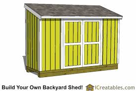 4x12 shed plans 4x12 storage shed