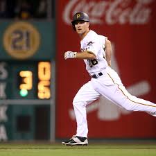 Adam Frazier Singles in his MLB Debut this Weekend - For Whom the ...