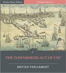 The Townshend Act of 1767 (Illustrated ...