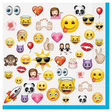 Servilletas Emoticonos Emoji La Pelicula 16 Unidades El Informal