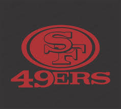 San Francisco 49ers Football Vinyl Decal Sticker For Nf