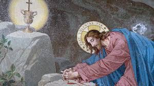prays in gethsemane mark 14 32