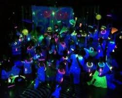 neon theme party