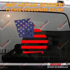 Georgia State Map Us Flag Decal Sticker Car Vinyl Pick Size Die Cut No Background Car Stickers Aliexpress