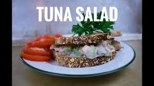 Greek Yogurt Tuna Salad - YouTube