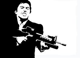 Scarface Tony Montana Al Pacino Decal Sticker New
