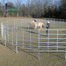 China Galvanized Iron Pipe Welded Farm Used Horse Livestock Fence Panels China Livestock Cattle Panels Cattle Fence Panels
