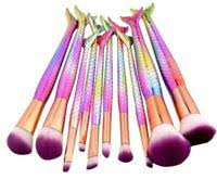 piece bamboo makeup brush set makeup