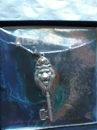 lion key pendant expandable necklace