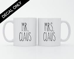 Mrs Cup Decal Etsy