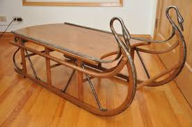 sled coffee table coffee table design
