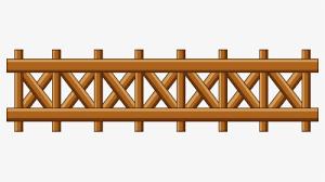 Transparent Wooden Garden Fence Png Clipart Wood Fence Clipart Png Png Download Kindpng