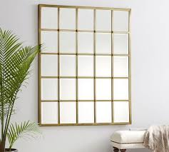 eagan 25 panel gold beveled mirror