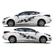 For Hyundai Elantra Decorative Diy Stickers Car Styling Accessories Car Body Waterproof Decals Sticker Funny Car Scratch Cover Stickers Funny Decal Stickerfunny Car Aliexpress