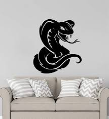 Amazon Com Advanced Store Wall Vinyl Decal Snake Wall Sticker Cobra Truck Window Car Removable Interior Room Wall Stickers Murals Mk8377 Home Kitchen