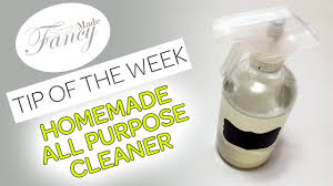 homemade all purpose cleaner tip of