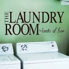 Laundry Wall Decals Wall Applique Trendy Wall Designs