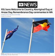 RSL bans aboriginal flag & welcome-to ...