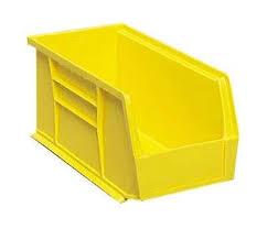 akrobins 30 250 yellow pp storage bin