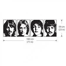 The Beatles Vinyl Wall Art Decal