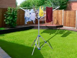 Portable Umbrella Clothesline With Tripod Base Crazy Sales We Have The Best Daily Deals Online