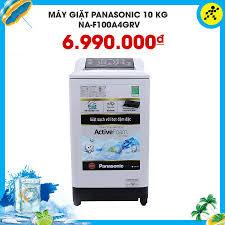 🥈Máy giặt Panasonic 10 kg NA-F100A4GRV... - Điện máy XANH  (dienmayxanh.com)