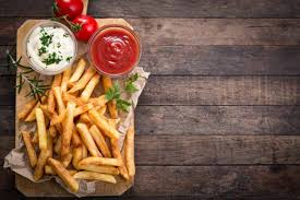 fries tomatoes food wallpapers hd