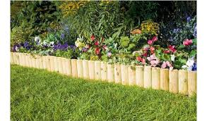 Buy Fixed Log Edging Regular Pack Of 2 Garden Edging And Borders Argos