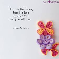 blossom like flower buzz quotes writings by saumya seth