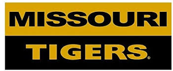 Amazon Com 9 Inch Missouri Tigers Decal Mu University Of Mizzou Logo Mo Removable Wall Sticker Art Ncaa Home Room Decor 9 By 3 1 2 Inches Baby