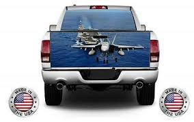U S Navy Fa 18e Super Hornet Wrap Rear Window Tailgate Graphics Decal Kit Ebay