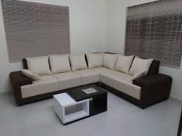 le spania fabric sofa with coffee table