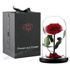 handmade preserved flower rose