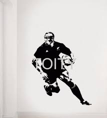Jonah Lomu Wall Sticker New Zealand Rugby Union Player Vinyl Decal Home Room Interior Graphic Art Decor Sport Style Mural Wall Sticker Vinyl Decalart Decor Aliexpress