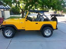 1989 jeep wrangler yj summer top