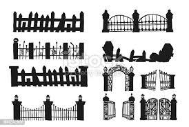 497 Graveyard Gate Illustrations Royalty Free Vector Graphics Clip Art Istock