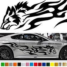 Wolf Car Sticker Car Vinyl Side Graphics Buy Online In Turkey At Desertcart