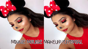 minnie mouse halloween makeup