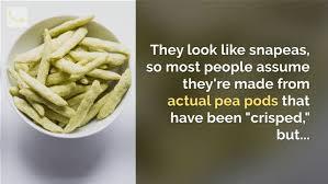 are snapea crisps healthy smart