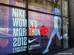 Nike Women S Marathon Window Decal Used To Promote Leukemia And Lymphoma Awareness Kids Playmat Kids Signs Nike Womens Marathon