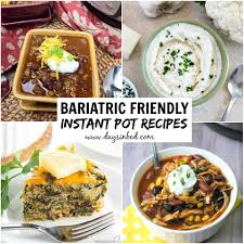 bariatric friendly recipes for your