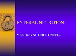 ppt enteral nutrition powerpoint
