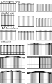 Steel Fence Panels For Garden Fencing Steel Swimming Pool Fencing Qingdao Yc Metal Co Ltd