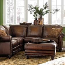 care distressed leather sofa