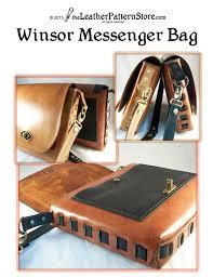 messenger bag pattern for leather