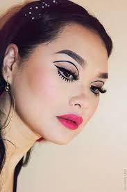 twiggy inspired makeup look lien jae